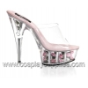DELIGHT-601FL Clear/Baby Pink